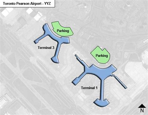 toronto pearson yyz airport terminal map