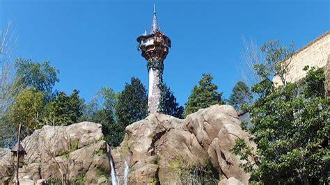 tangled tower  magic kingdom rapunzel flynn rider
