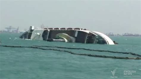 chinese cruise ship sinks off pattaya s laem chabang port