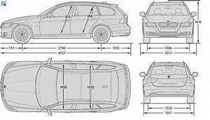 Longueur Bmw Serie 3 : dimensions bmw s rie 3 e91 bmw ~ Maxctalentgroup.com Avis de Voitures