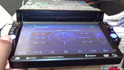 autorradio navegador 2din 7 con dvd gps bluetooth y doovi autorradio 1din pantalla de 7 pulgadas extraible 320 youtube