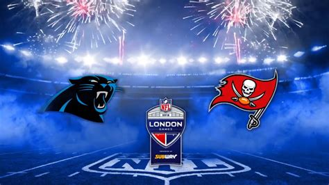 hype video panthers  buccaneers  london