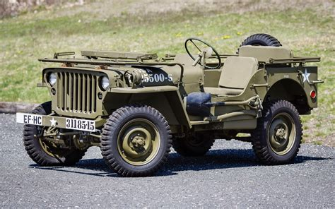 Jeep Ww2 Willys Retro Military H Wallpaper