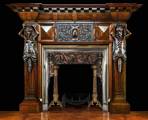 Ornate Fireplace Mantels In Comfy Fireplace Mantelpiece