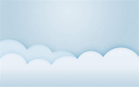 light blue minimalistic clouds wallpapers light blue