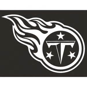 Tennessee Titans Logo Black and White