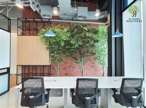 ต้นไม้ประดิษฐ์ทรงโมเดิร์น สูง 2.5 เมตร - RAMITREES (รมิทรี)