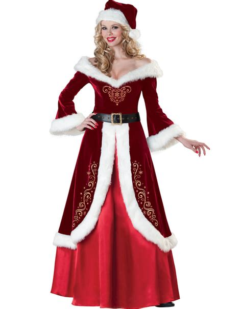 mrs st nick womens santa claus christmas helper holiday
