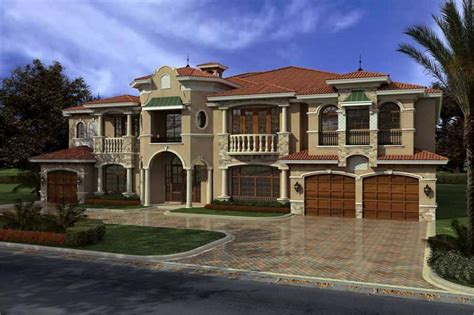 country style house plans luxury home with 7 bdrms 7883 sq ft house plan 107 1031