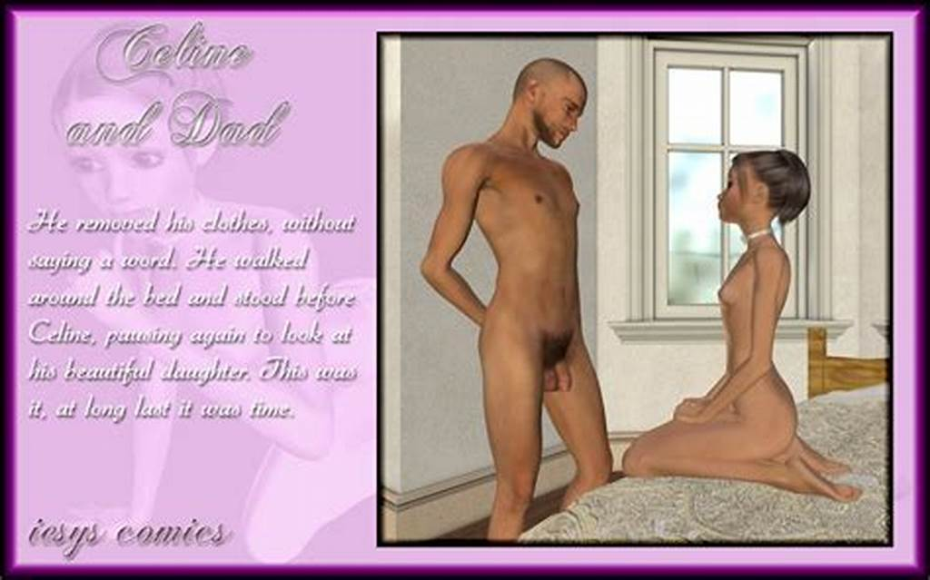 #3D #Incest #Comic #With #Babe #Getting #Deflowered #By #Dad