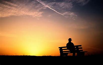 Alone Sad Wallpapers Godfather Feeling Collected Keeping