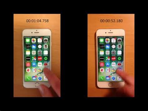 video shows iphone  performance   battery