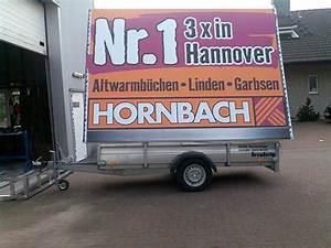 Hornbach Pkw Anhänger : hornbach werbeaktion anh nger mieten promotion bundesweit ~ Jslefanu.com Haus und Dekorationen