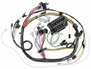 M U0026h 1966 Chevelle Dash  Instrument Panel Harness Console