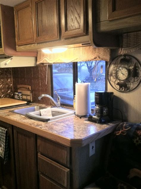 redoing   rv   countertop rving remodeled