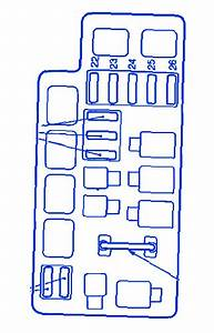 Subaru Forester Simple 1999 Fuse Box  Block Circuit Breaker Diagram  U00bb Carfusebox