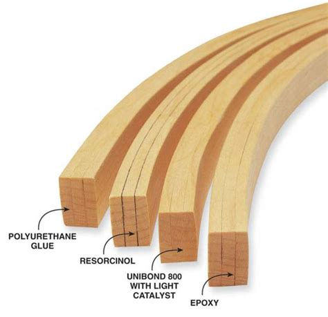glue  bent lamination learn woodworking