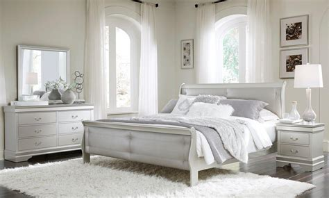 marley silver bedroom set  global furniture