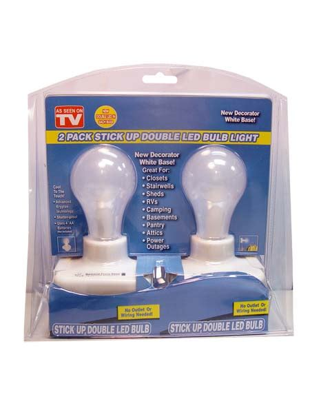 light bulb and battery store 2 pk battery operated stick on lightbulb