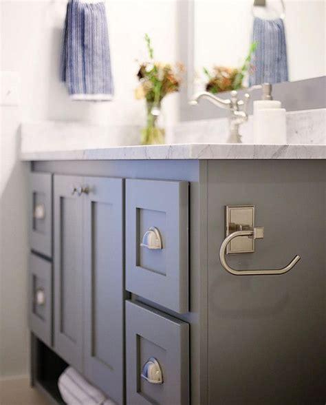 vanity paint color benjamin hc 168 chelsea gray cbc builds via instagram photo by