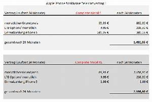 Mein Vodafone Online Rechnung : kleine rechnung das iphone 5 mit tarif inkl lte ~ Themetempest.com Abrechnung