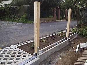 Betonfundament Für Pfosten : zaun auf beton befestigen mischungsverh ltnis zement ~ Whattoseeinmadrid.com Haus und Dekorationen