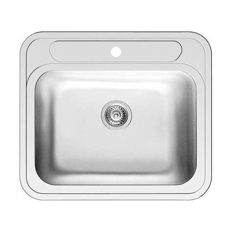 lavello incasso cucina lavello incasso kubo l 58 x p 51 cm 1 vasca prezzi e