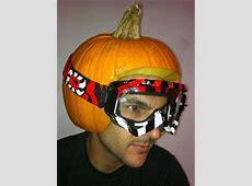 Pumpkin Helmets A Custom Helmet Halloween Edition
