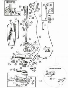 Oreck U2000 Vacuum Parts
