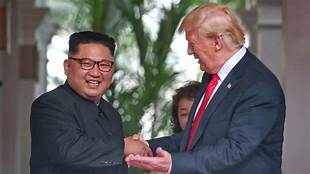 "Trump says he got a 'beautiful' and ""very warm"" letter from Kim Jong Un…"