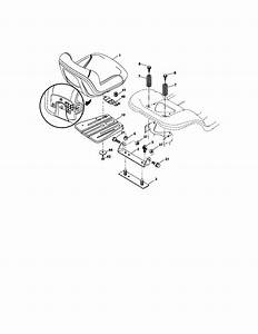 Craftsman Model 917276683 Lawn  Tractor Genuine Parts