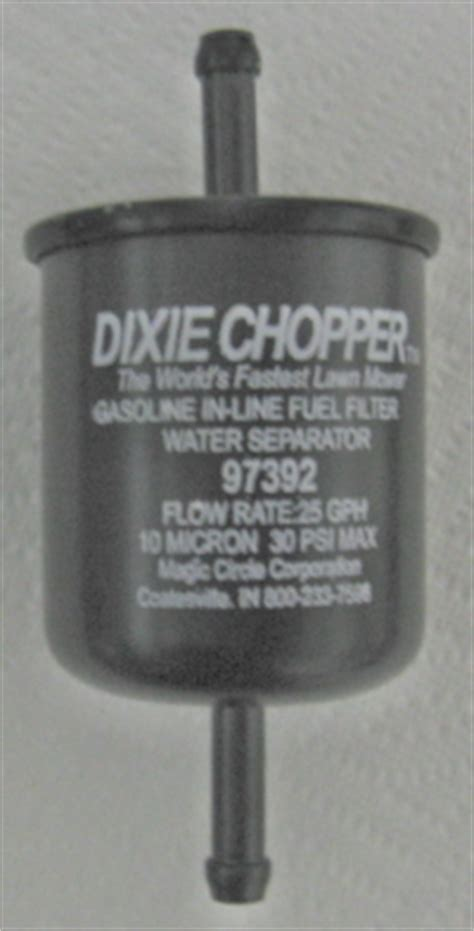 DIXIE CHOPPER FILTERS