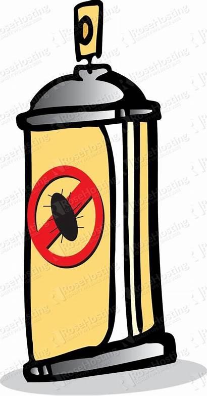 Bug Killer Waste Hazardous Spray Clip Clipart