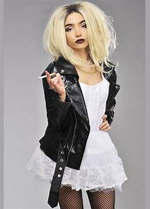 Womens Deluxe Bride Of Chucky Style Costume