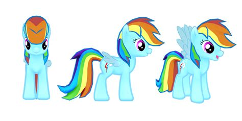 My Little Pony Mobile Game Rainbow Dash Model.png