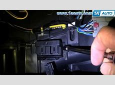 How to Replace Blower Motor Module 0408 Chrysler Pacifica