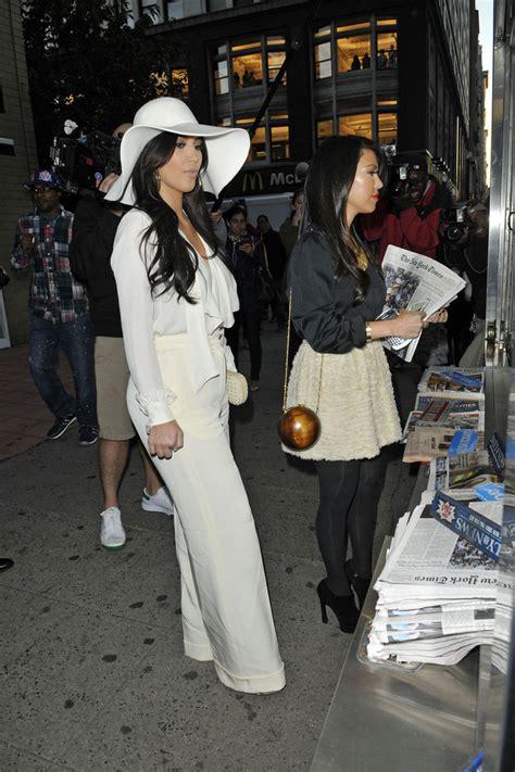 More Pics of Kim Kardashian Wide Brimmed Hat (6 of 20) - Kim Kardashian Lookbook - StyleBistro