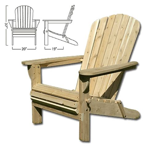 pro wooden guide folding adirondack chair plans
