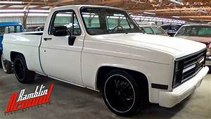 1986 Chevrolet C10 Shortbed Lowered Pickup