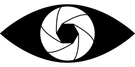 foto de Camera Diaphragm Eye · Free vector graphic on Pixabay