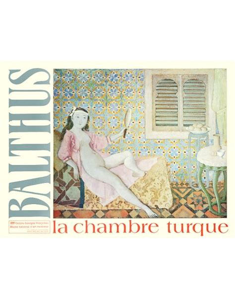 poster chambre painting poster la chambre turque by balthus