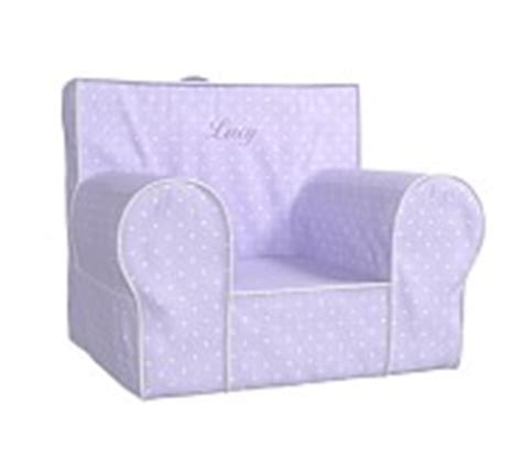 anywhere chair slipcover only lavender lavender pin dot anywhere chair pottery barn