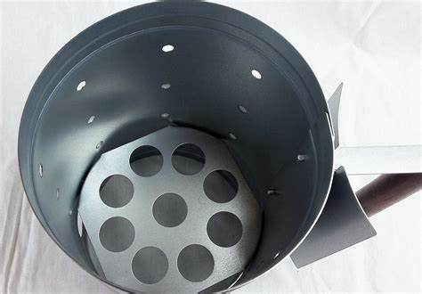 A chimney is a pipe through which smoke goes up into the air, usually through the roof of a building. Charcoal Chimney Starter 5 Pound Capacity - 4theGrill.com