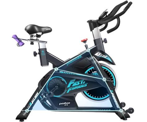 pooboo pro indoor cycling bike review    pros