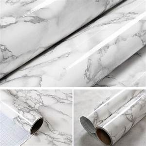 Marble Effect Contact Paper Film Vinyl Self Adhesive ...