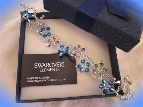 fiori swarovski le creazioni di fede bracciale fiori swarovski
