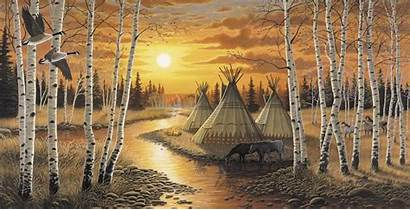 Native American Wallpapers Murals Indian Indians Wall