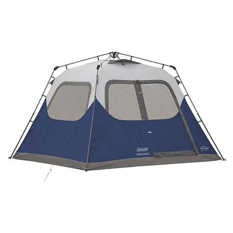 coleman 10 person instant cabin tent coleman 6 person 10 x 9 instant cabin family cing