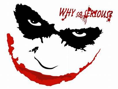 Joker Knight Dark Serious Why Clipart Batman