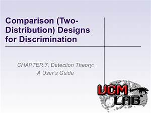 Detection Theory Chapter 7